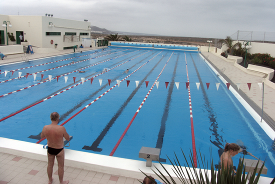 Piscina olímpica de La Santa Sport, Lanzarote