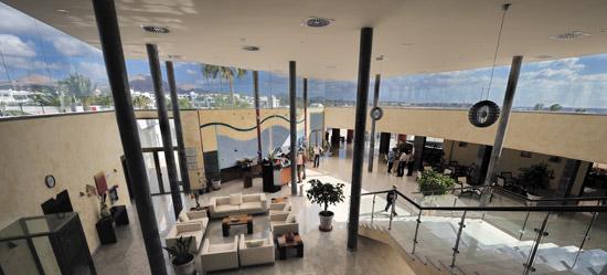 Hotel Las Costas, recepción, Puerto del Carmen, Lanzarote