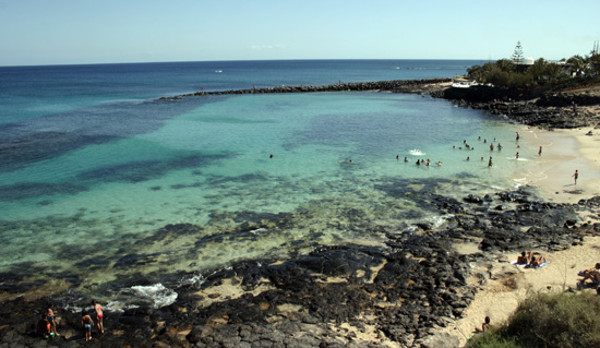 Vistas de Playa del Rey, cala de Costa Teguise