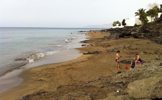 Calas de La Peñita, Playa de la arena, Playa Quemada, Lanzarote