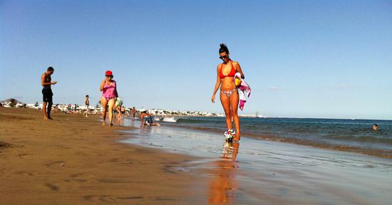 playa de Guacimeta, Playa Honda, Lanzarote