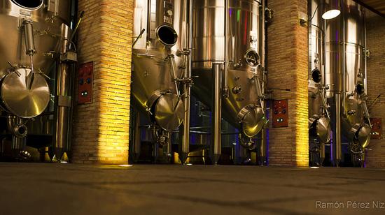 Localización de Bodega Stratvs. Maquinaria vitivinícola, La Geria, Lanzarote