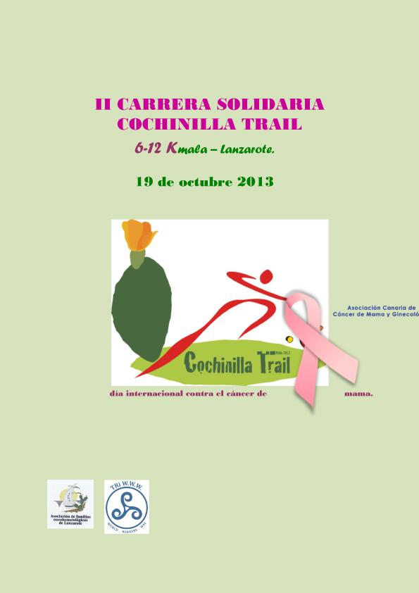 Ii carrera solidaria cochinilla trail por la lucha contra el c ncer de mama s bado 19 de octubre - Alimentos contra el cancer de mama ...