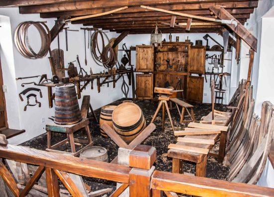 Taller para la facbricación de toneles y barricas
