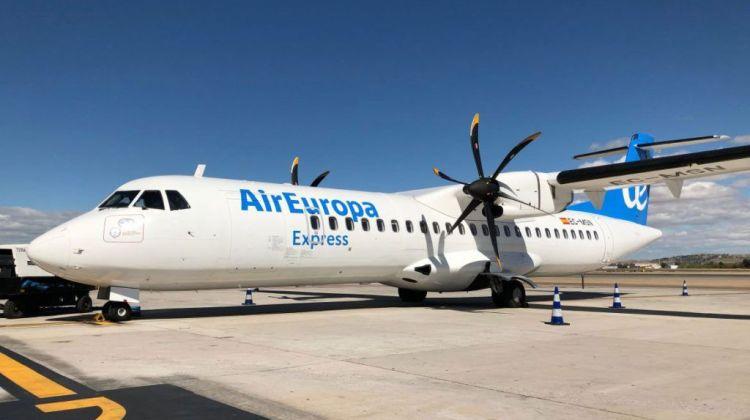 Air Europa Express comienza hoy lunes a volar entre Lanzarote y Gran Canaria