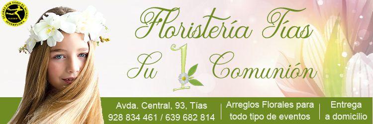 floristeria tias primera comunion en lanzarote
