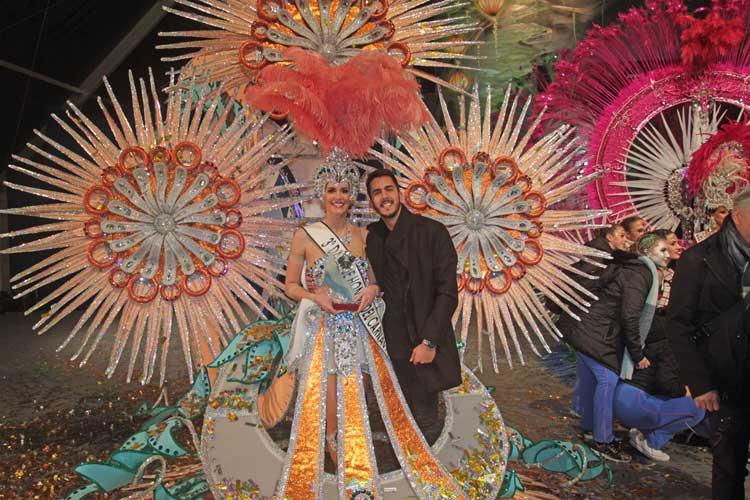 Gala Reina Del Carnaval Arrecife tercera dama