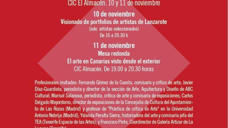 I Encuentro de Arte Contemporáneo de Lanzarote (10 y 11 de noviembre)