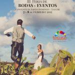 III Feria de Bodas y Eventos Teguise 2015 (Sábado 7 y domingo 8 de febrero)