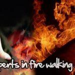 Firewalking, camina sobre las brasas (Domingo, 26 de junio)