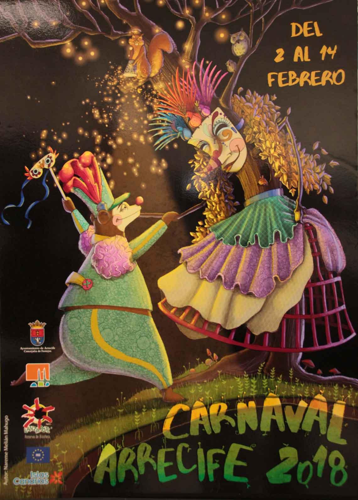 programa carnaval arrecife 2018