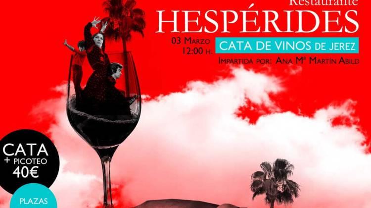 Cata de Vinos de Jerez en Restaurante Hespérides (Sábado, 03 de marzo)