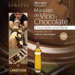 Maridaje de vino y chocolate con Ludovic en Bodega Stratvs (Domingo, 28 de julio)