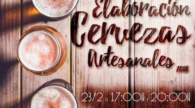 Curso de elaboración de cervezas artesanales (23 y 24 de febrero y 10 de marzo)