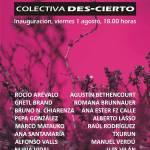 Exposición colectiva Des-Cierto en la Galería de Arte Enmala (Del 01 de agosto al 03 de octubre)