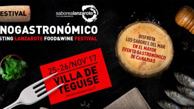Festival Enogastronómico Saborea Lanzarote 2017 (25 y 26 de noviembre)