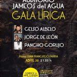 Gala Lírica en Jameos del Agua (Jueves, 30 de abril)