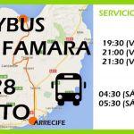 Servicio especial de transporte público para las fiestas de Famara
