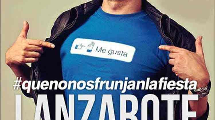 David Guapo regresa a Lanzarote con su espectáculo #quenonosfrunjanlafiesta (Domingo, 09 de abril)