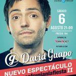 David Guapo trae su espectáculo a Lanzarote (Sábado, 06 de agosto)