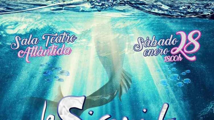 La Sirenita, una aventura ecológica, teatro musical (Sábado, 28 de enero)