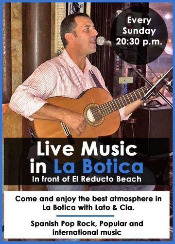 live music in Arrrecife La Botica
