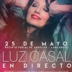 Concierto de Luz Casal en Lanzarote (Viernes, 25 de mayo)