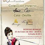 El desfile de moda de María Cao inaugura <em>Trendy & Wine Lanzarote 2013. La Malvasía se viste de moda</em> (Viernes, 25 de enero)