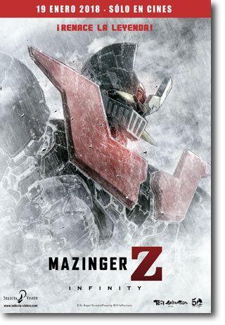 cines lanzarote deiland Mazinger Z