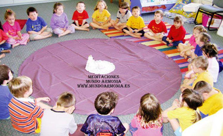 meditación para niños en lanzarote