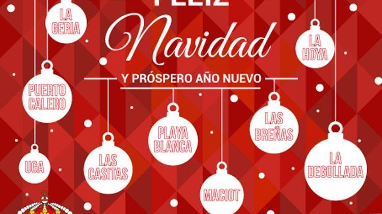 Programa de Navidad y Reyes Yaiza 2016/2017
