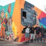 Nuevo mural para la plaza de El Almacén