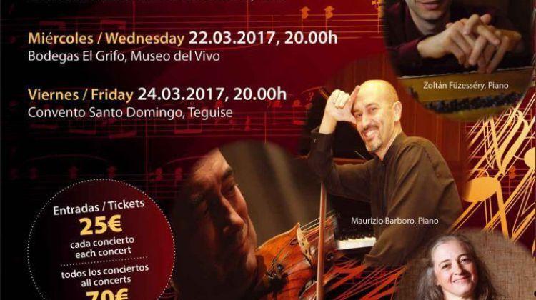 Primavera Musical Yaiza 2017 (Del 19 al 24 de marzo)