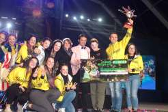 las vacilonas, triunfadoras en el concurso de murgas del carnaval de arrecife 2018