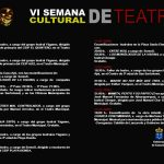 VI Semana de Teatro de San Bartolomé (Del 02 al 14 de abril) (Finalizado)
