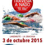 Travesía a nado El río 2015 (Sábado, 03 de octubre)