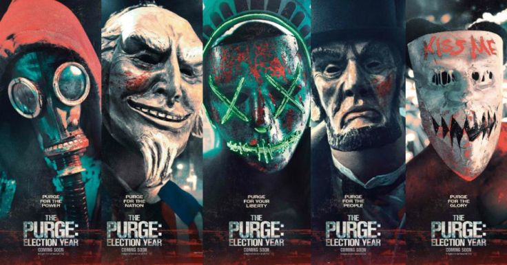 Posters The Purge 3-Election Year