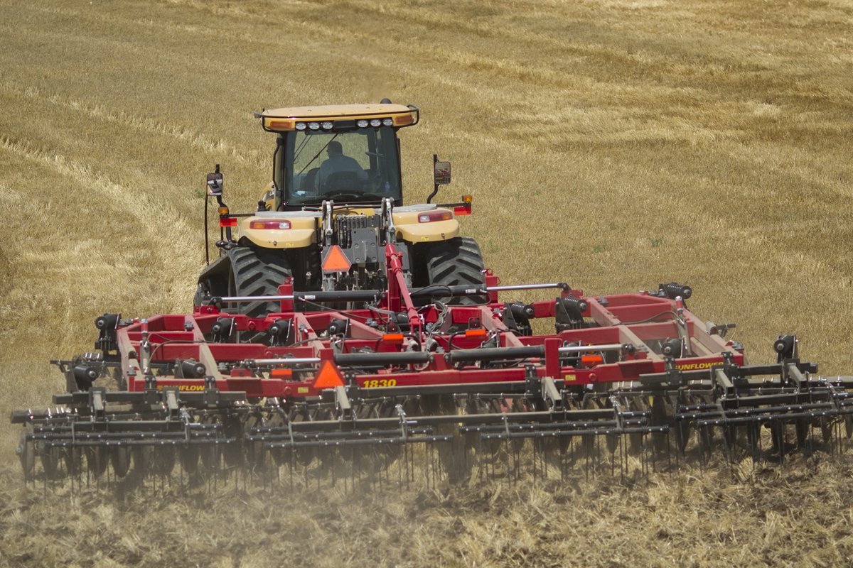 AGCO unveils all-new Sunflower 1800 Series tandem disc harrows – Ohio Ag Net | Ohio's Country Journal