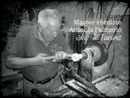 Antonio Palmerio in his workshop | photo: ©ockstyle