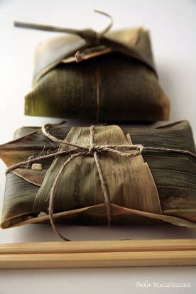 Asian Inspired :: Steamed Rice in bamboo leaves | Recipe and Styling: Orsola Ciriello Kogan | Photo ©LuciaZeccara