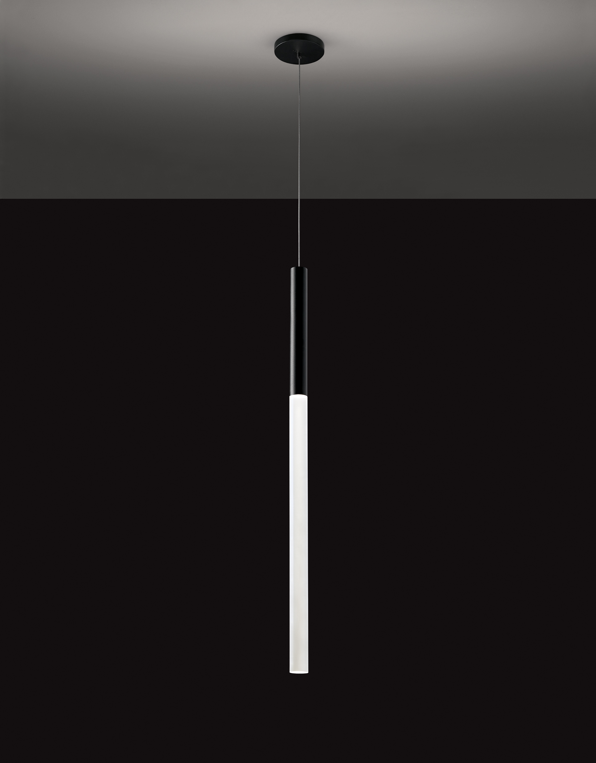 Hammered Steel Pendant Light