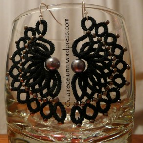 Wave earring, Corina Meyfeldt