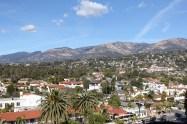 Utsikt mot bergen