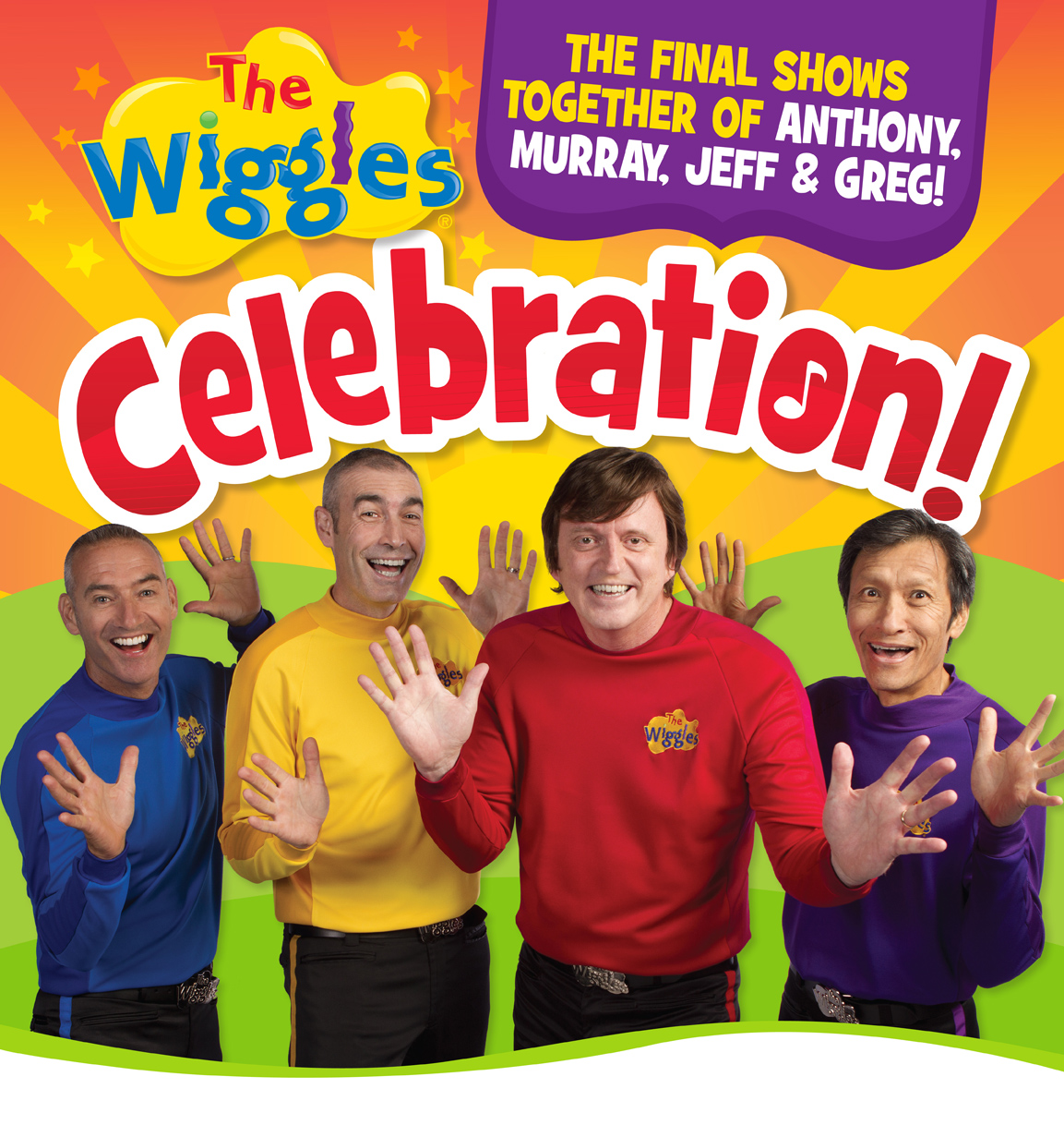 Giveaway: The Wiggles Celebration DVD