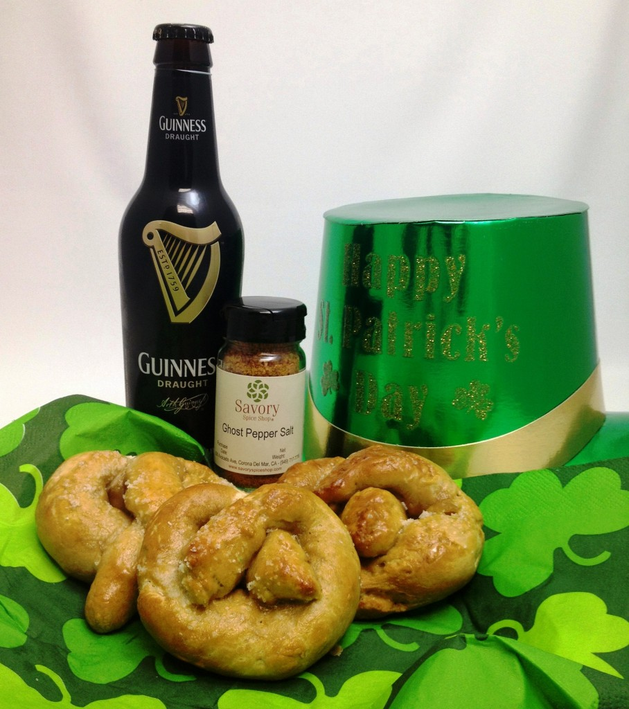 Savory Spice Shop - Ghost Pepper Salted Guinness Pretzel