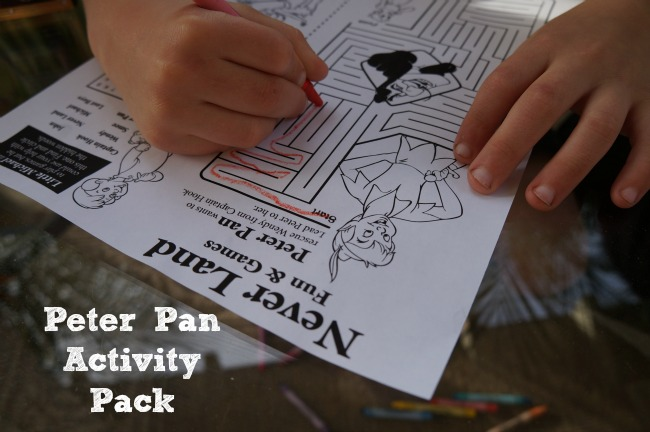 peter pan activity pack