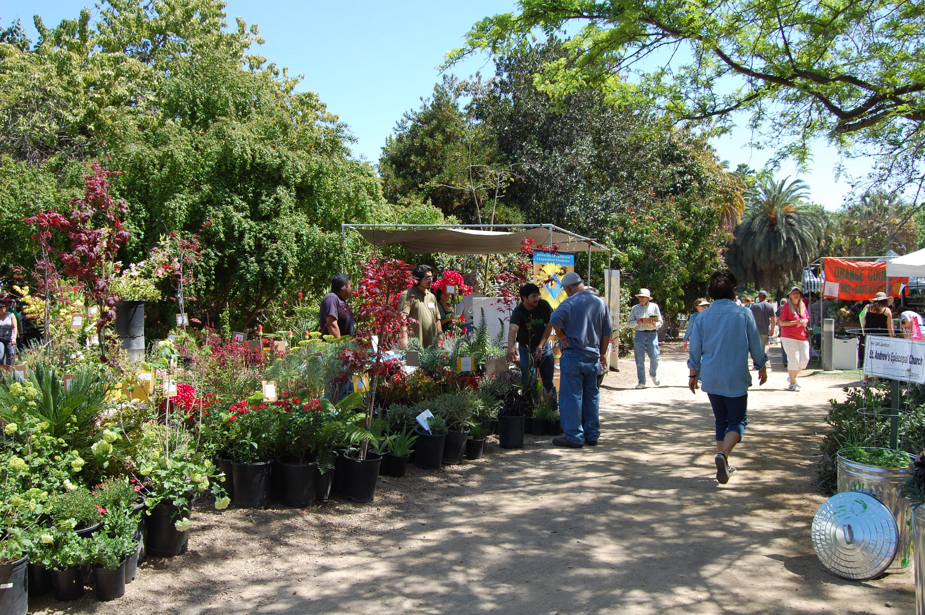 Fullerton Arboretum Plant And Garden Show Oc Mom Blog