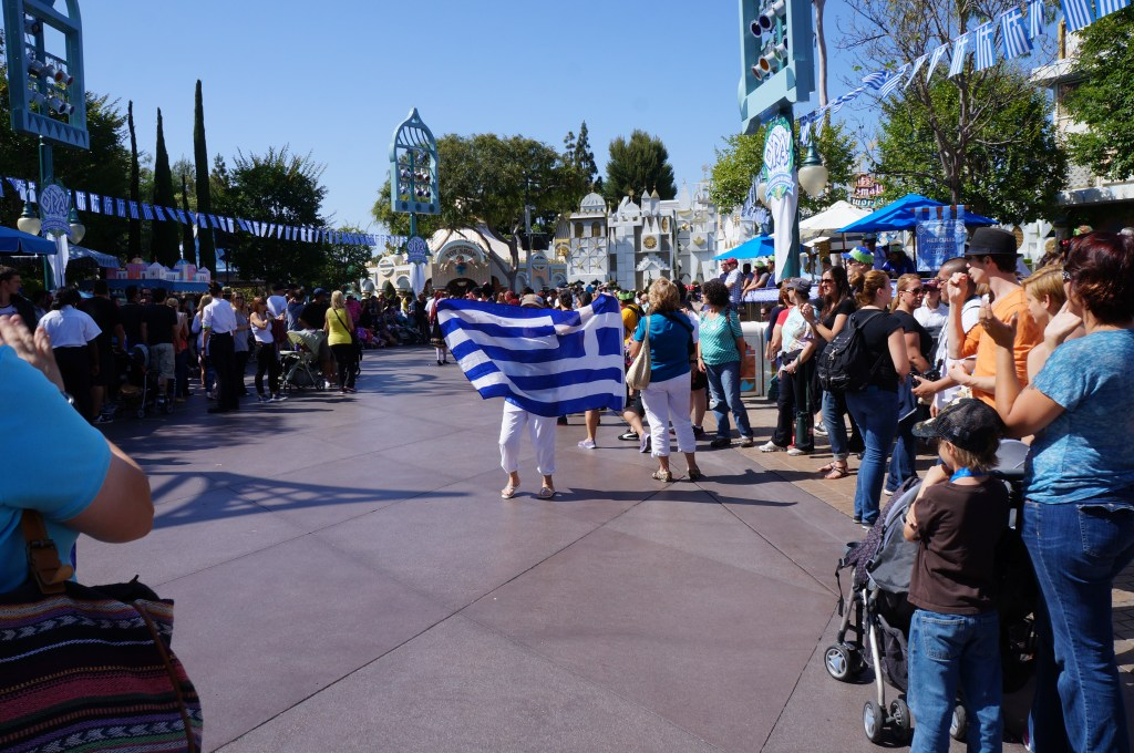 OPA! A Celebration of Greece at Disneyland Resort