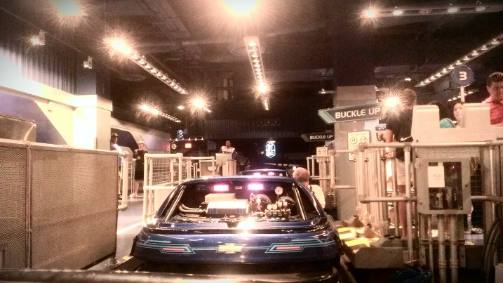 Chevrolet test track the ride