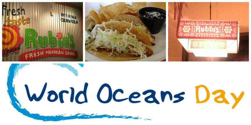 world oceans day event with rubios